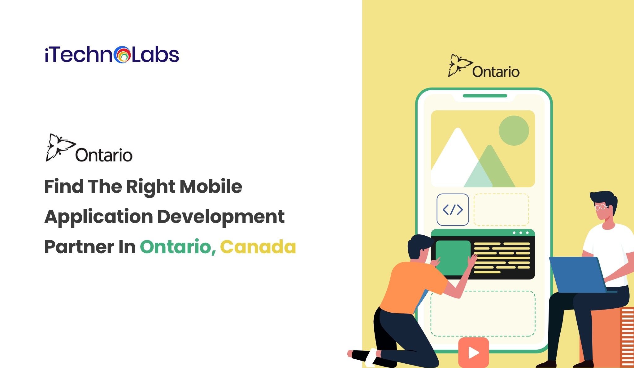 Find the right mobile application development partner in Ontario, Canada