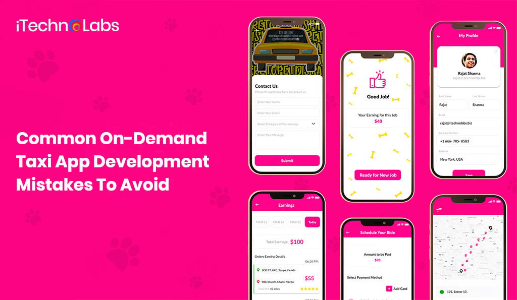 On-Demand Taxi App Development