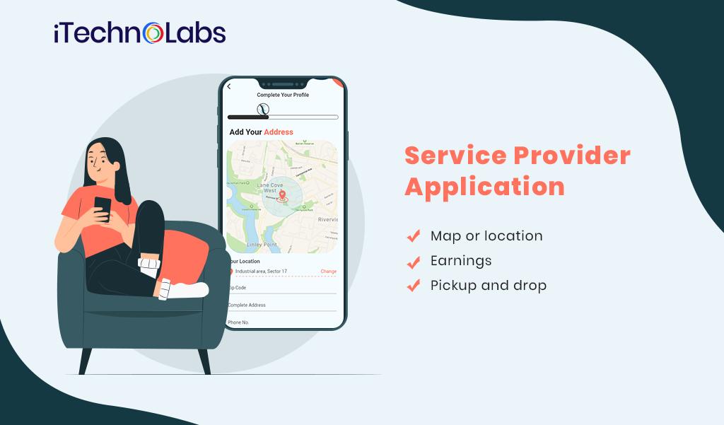 service provider laundry application itechnolabs